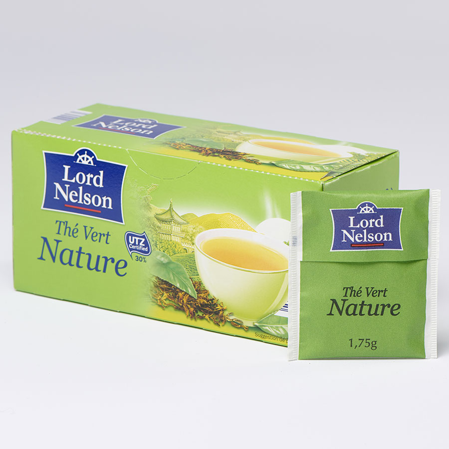 Lord Nelson (Lidl) Thé vert nature -