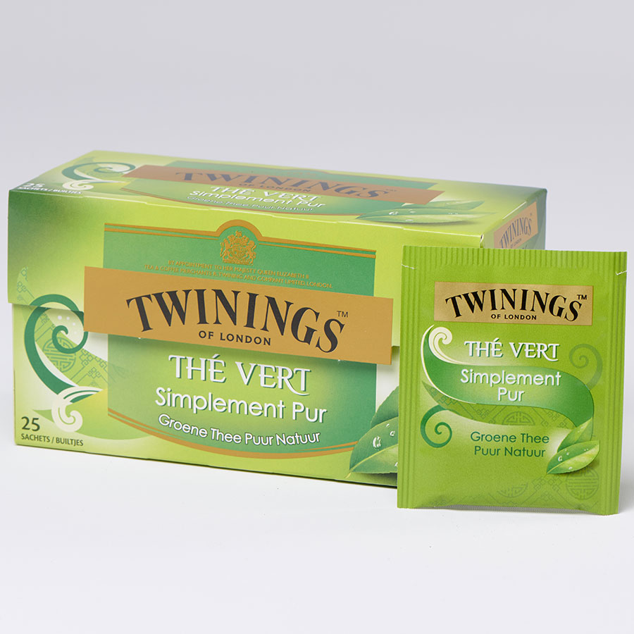 Twinings Thé vert simplement pur -