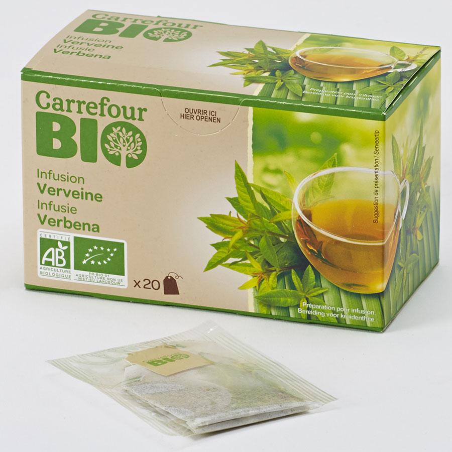 Carrefour bio Infusion verveine -