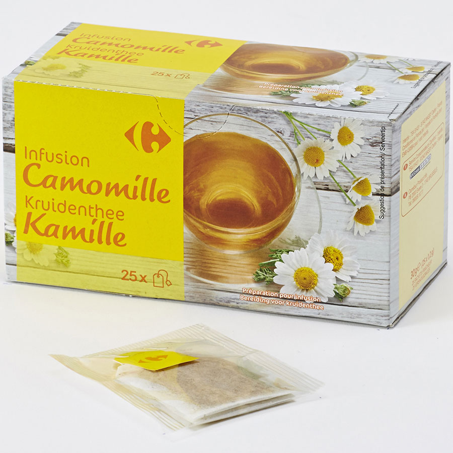 Carrefour Infusion camomille -