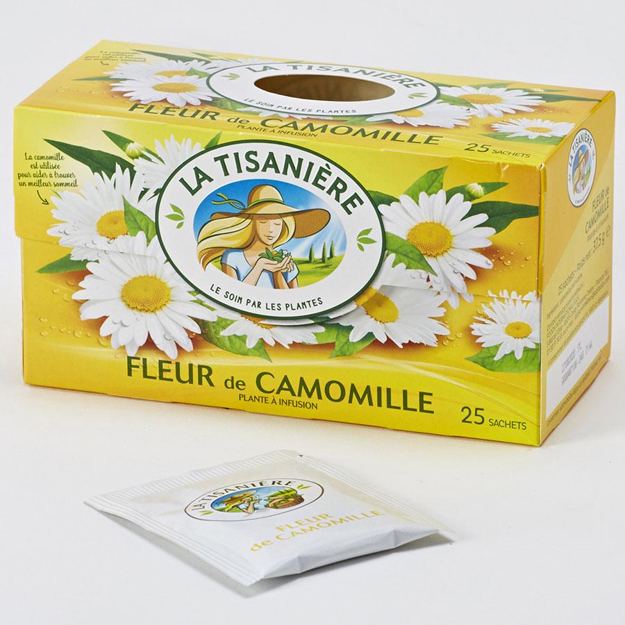 La tisanière Fleur de camomille -