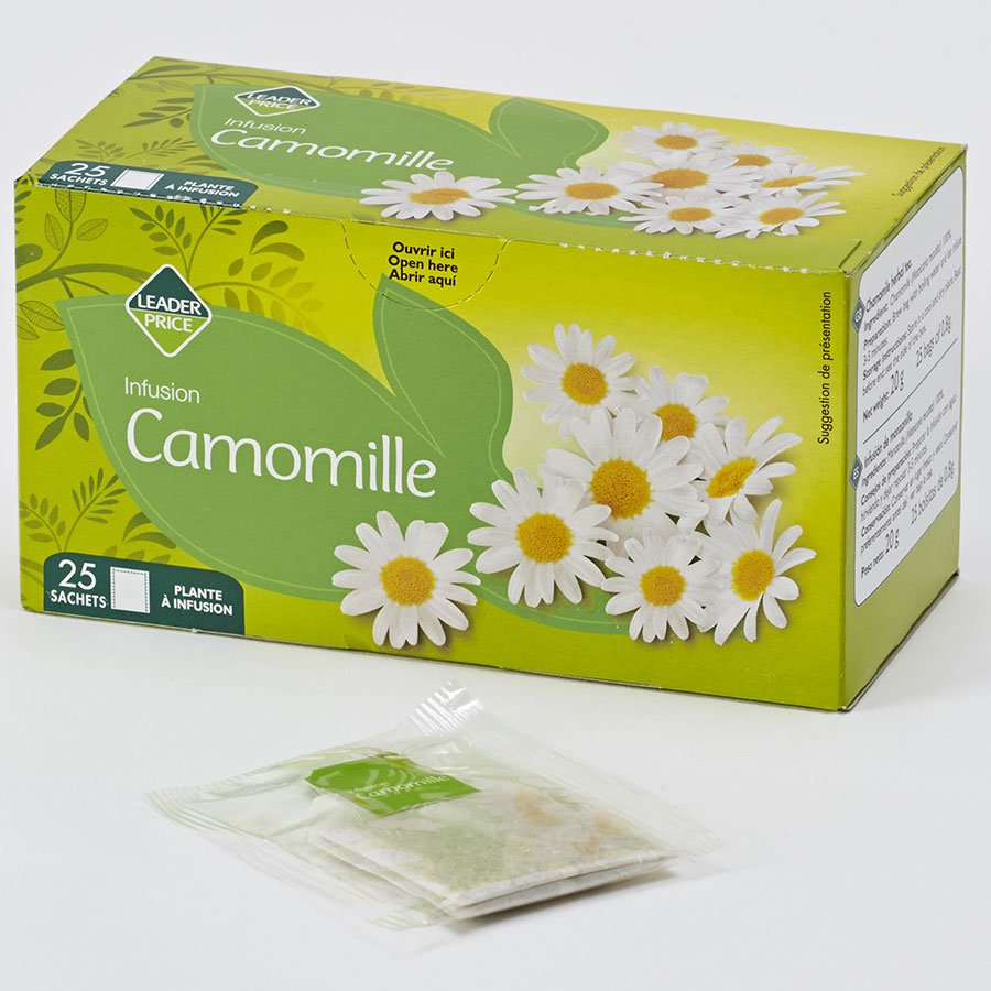 Leader Price Infusion camomille -