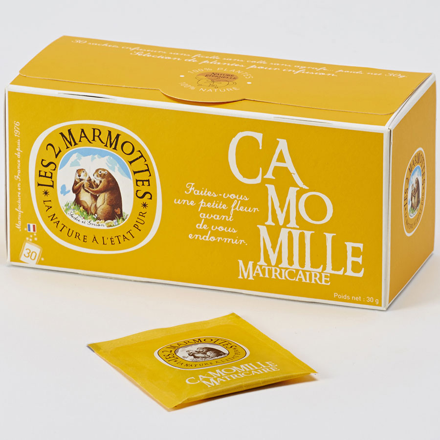 Les 2 Marmottes Camomille matricaire -