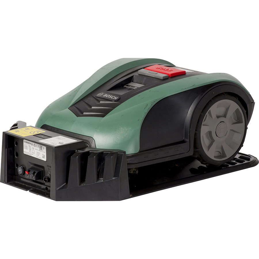 Bosch Indego M700 - Vue sur la station de charge