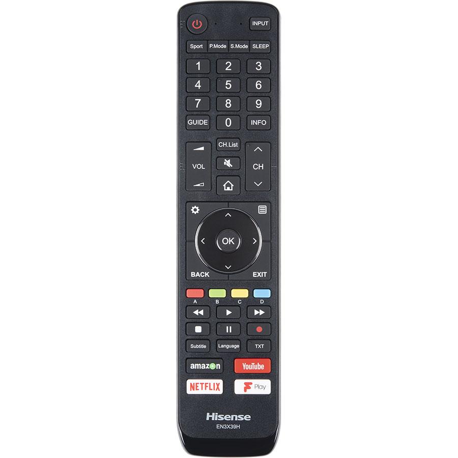 Hisense H43A6500 - Télécommande