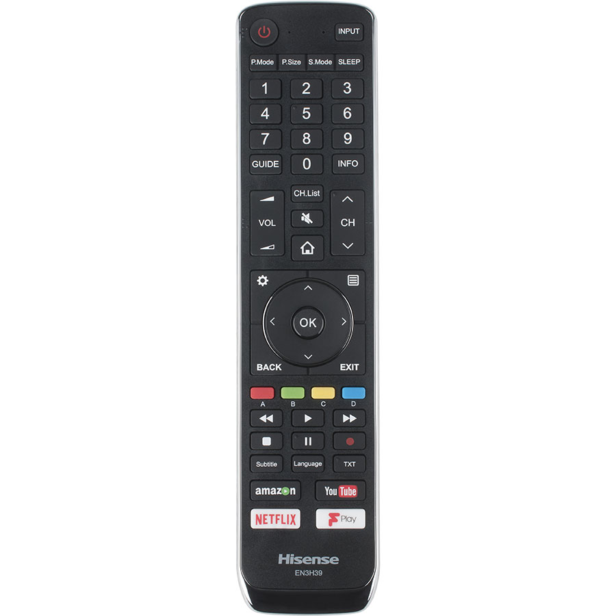 Hisense H55N6800 - Télécommande