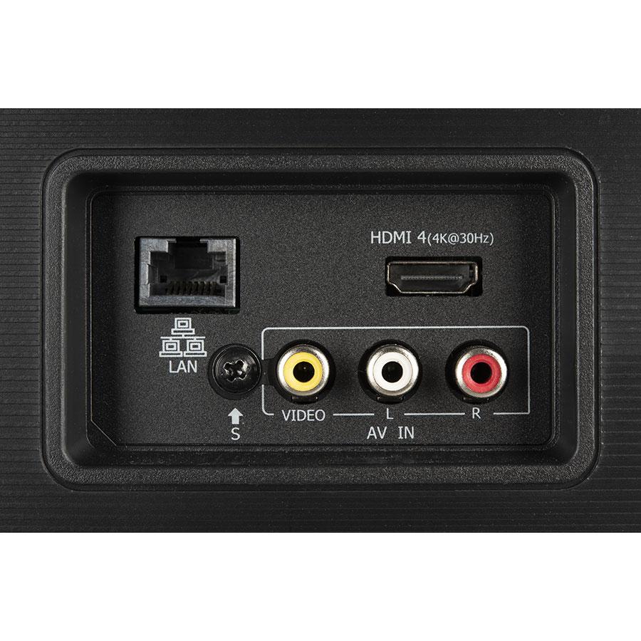 HiSense H55U7A - Connectique
