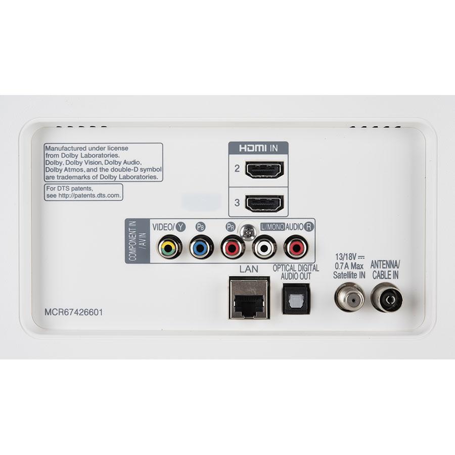 LG 32LK6200PLA - Connectique