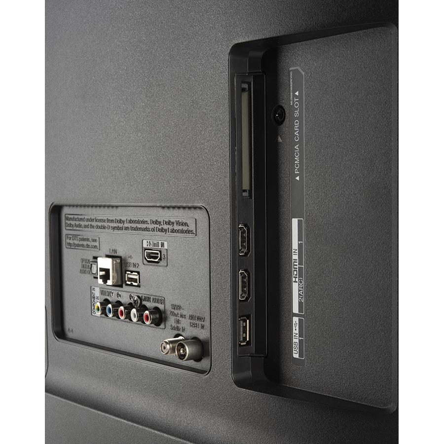 LG 43UK6300PLB - Connectique