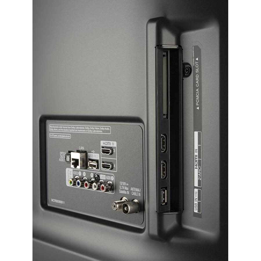 LG 43UK6500PLA - Connectique