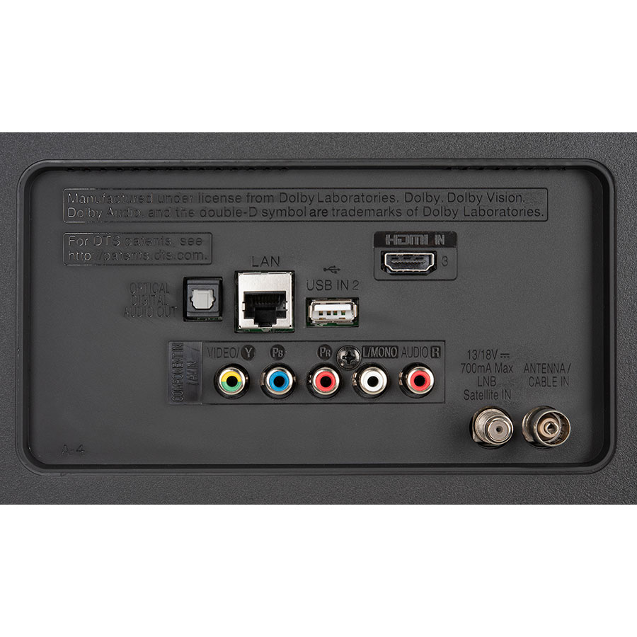 LG 43UM7050 - Connectique