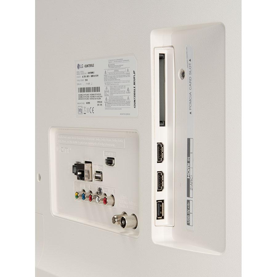 LG 43UN73906 - Connectique