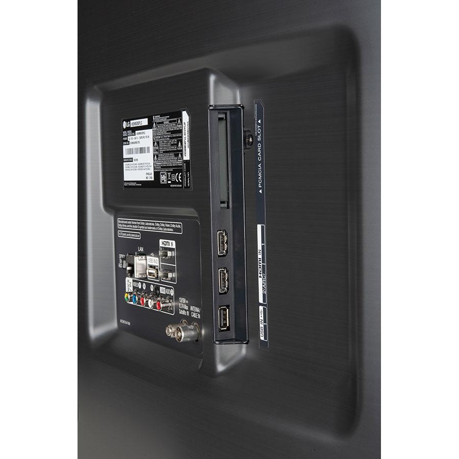 LG 49SM8050 - Connectique