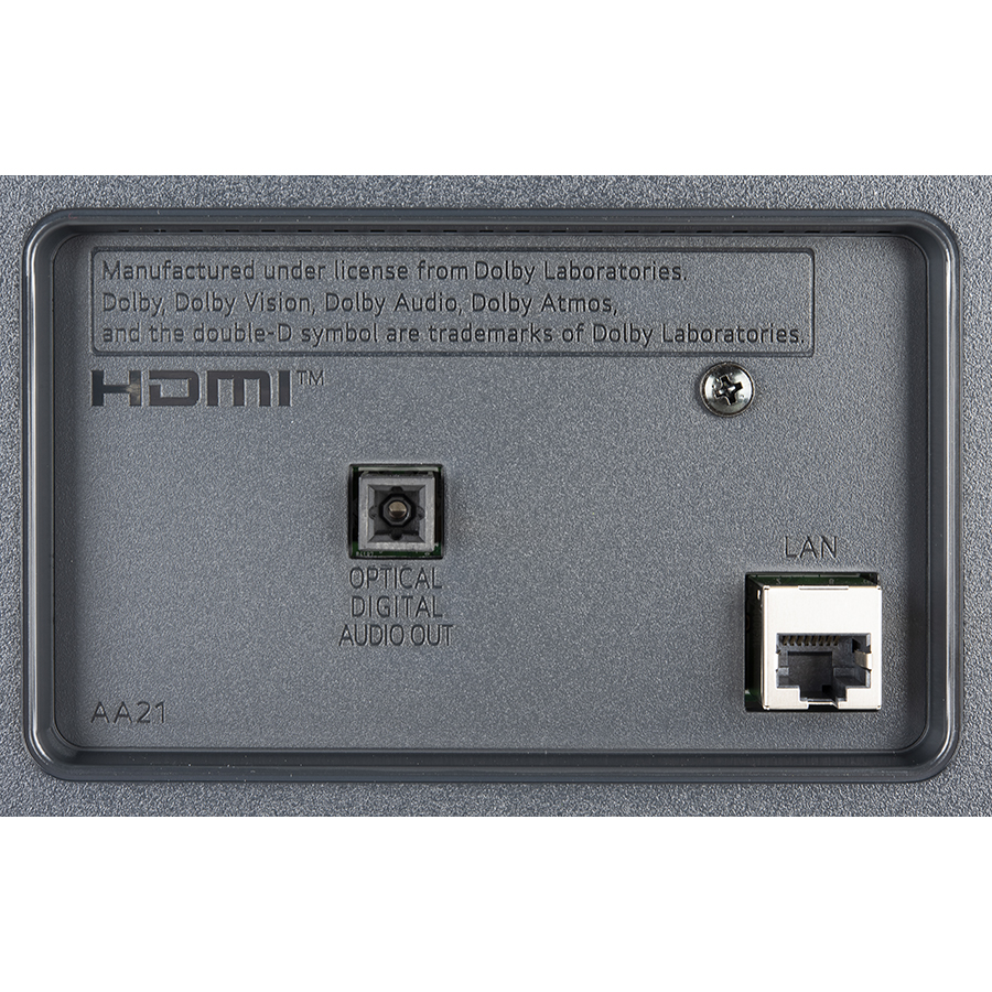 LG 50UP77006LB - Connectique