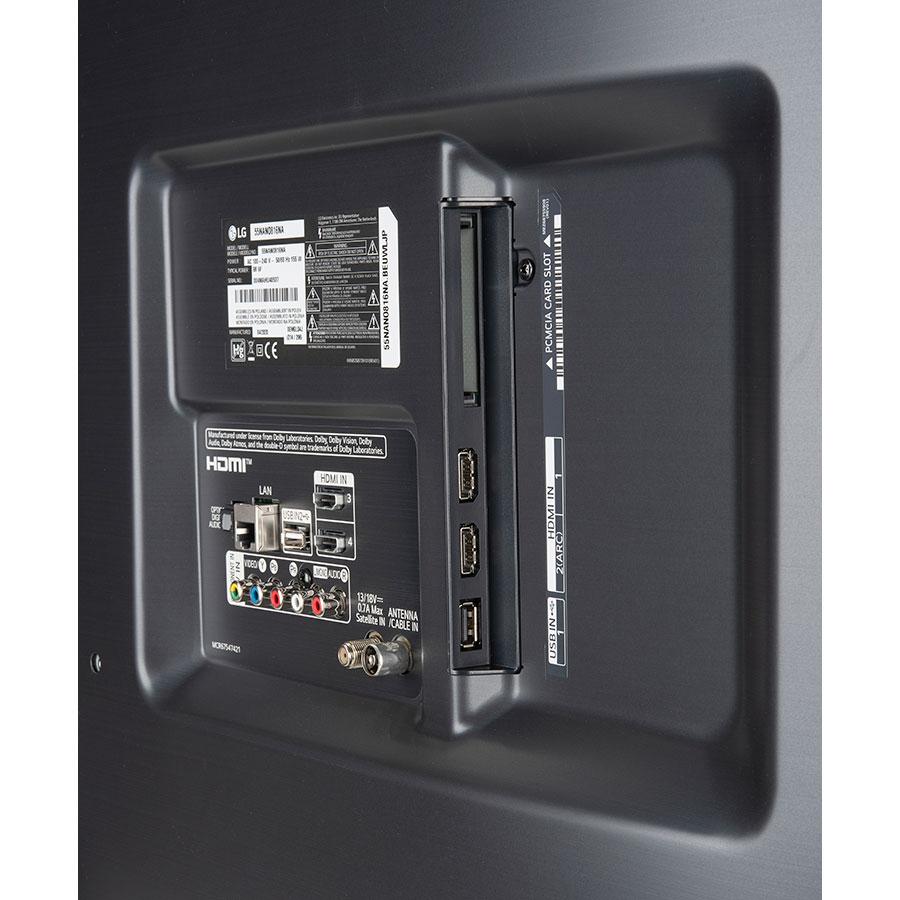 LG 55NANO81 - Connectique