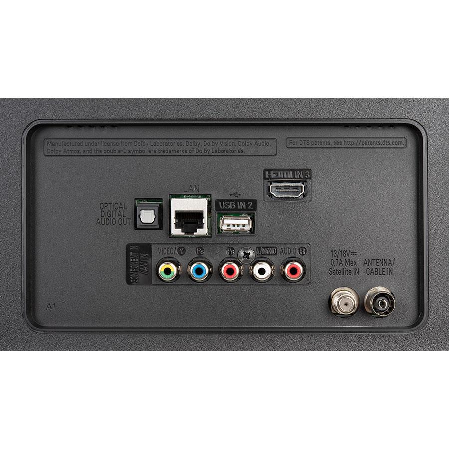 LG 55UM7050 - Connectique