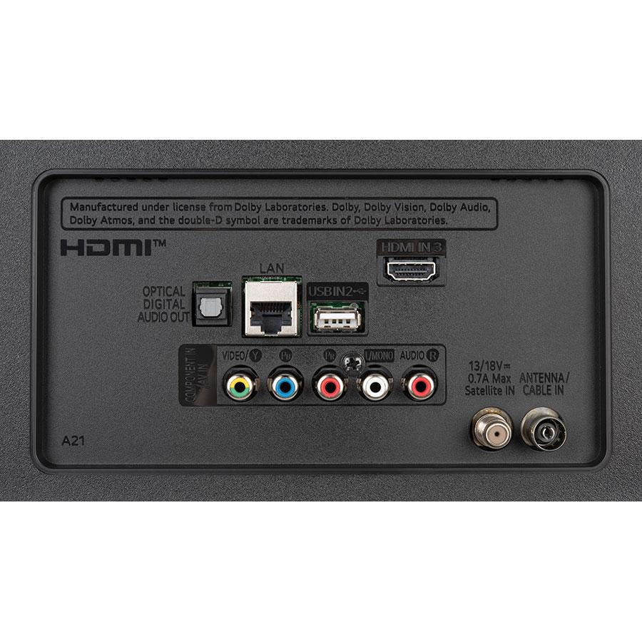 LG 55UN71006 - Connectique