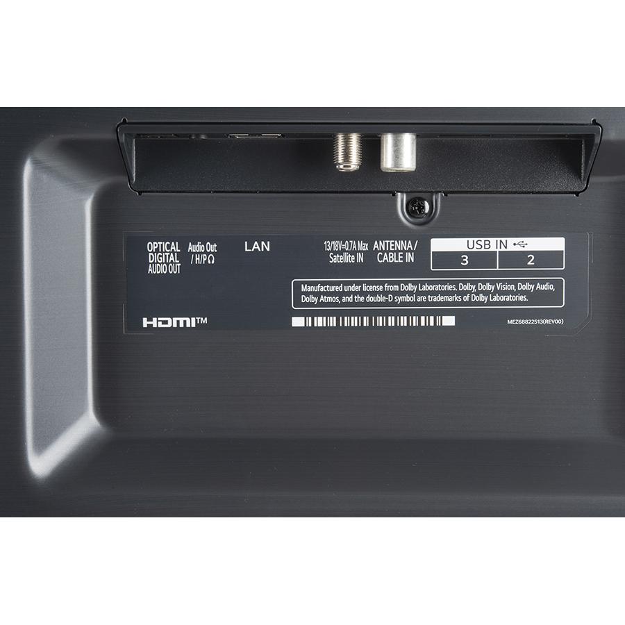 LG 65NANO866PA - Connectique