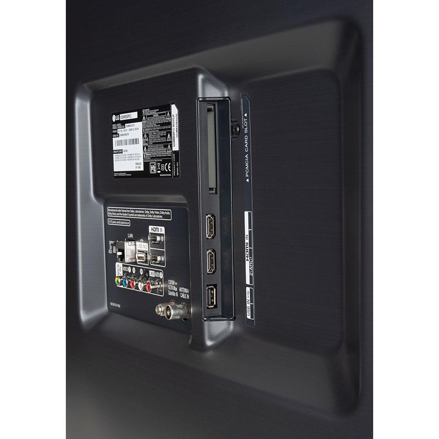 LG 65SM8050 - Connectique