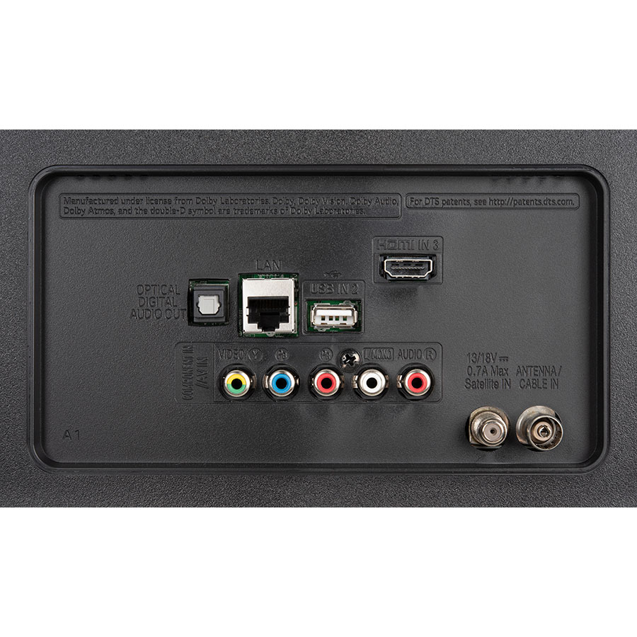 LG 65UM7050 - Connectique