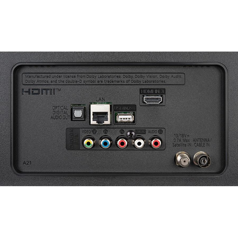 LG 65UN71006 - Connectique