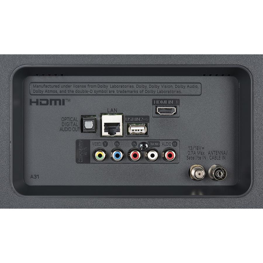 LG 65UN7400 - Connectique