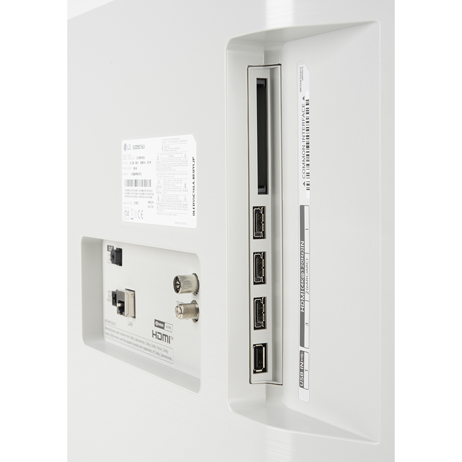 LG OLED55C15 - Connectique