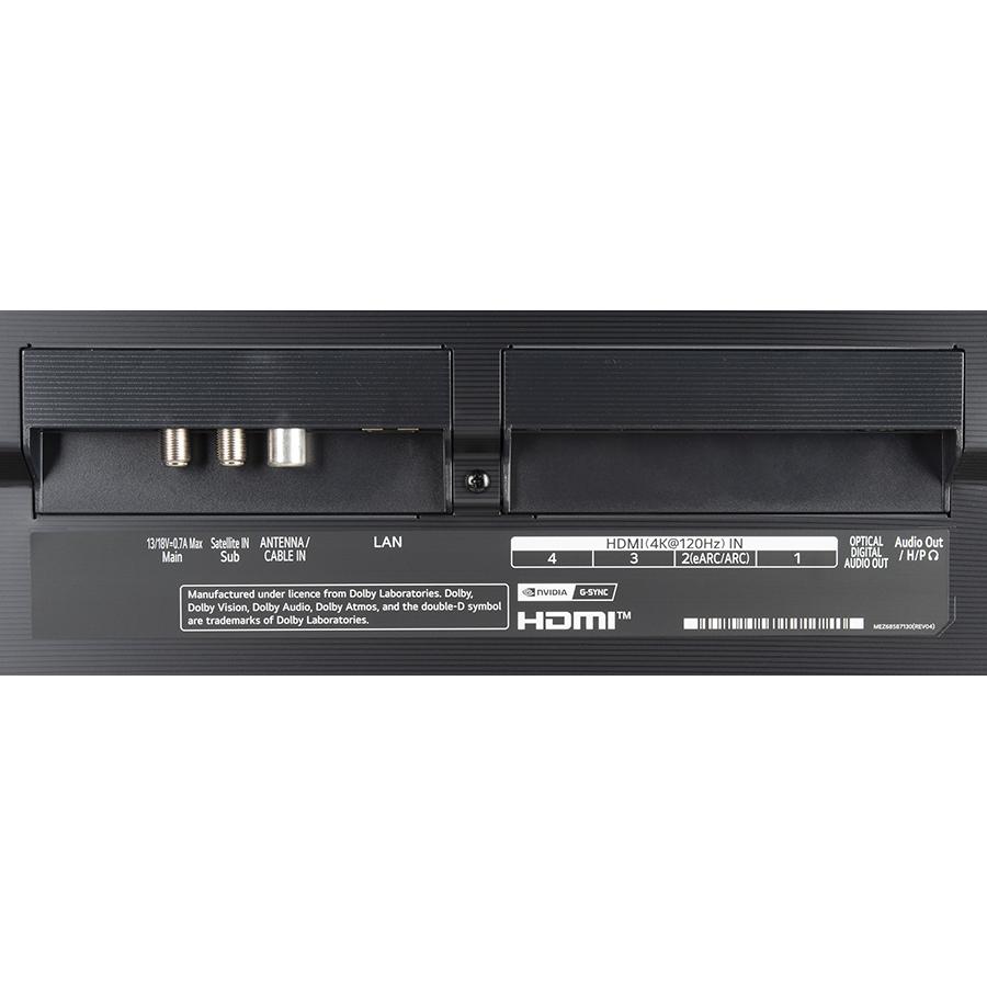 LG OLED55G16 - Connectique