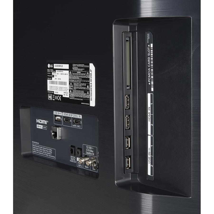 LG OLED65BX6 - Connectique