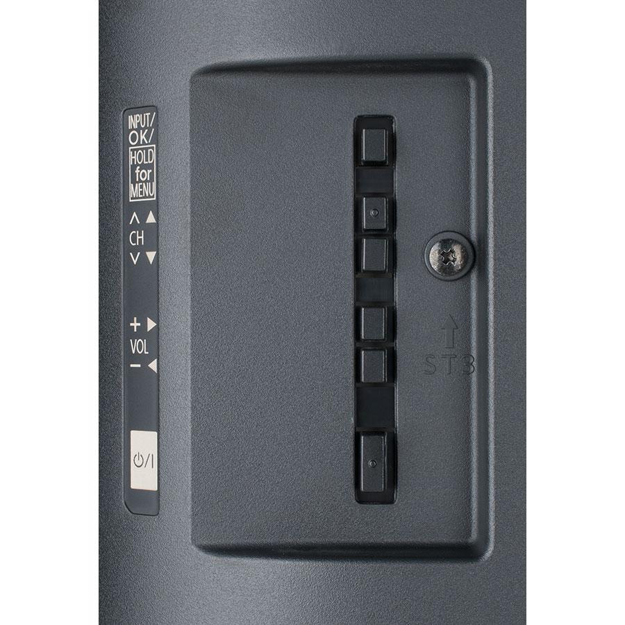 Panasonic TX-32ES500E - Boutons de commandes situés sur le téléviseur
