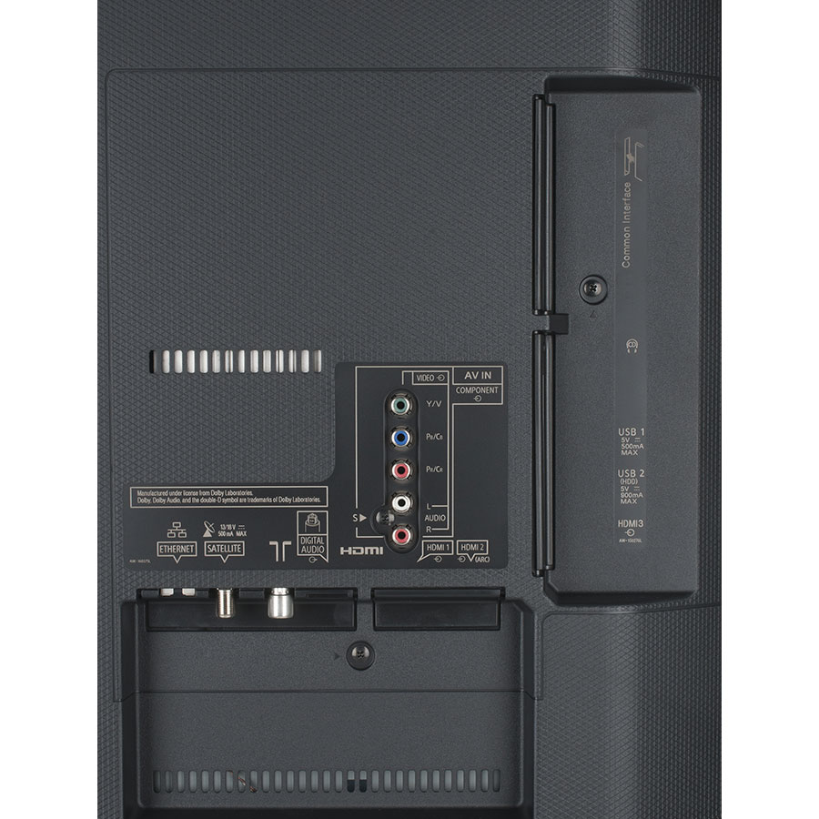 Panasonic TX-49EX600E - Connectique