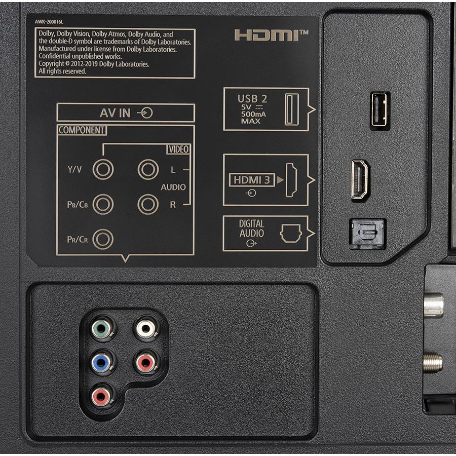Panasonic TX-50HX820E - Connectique