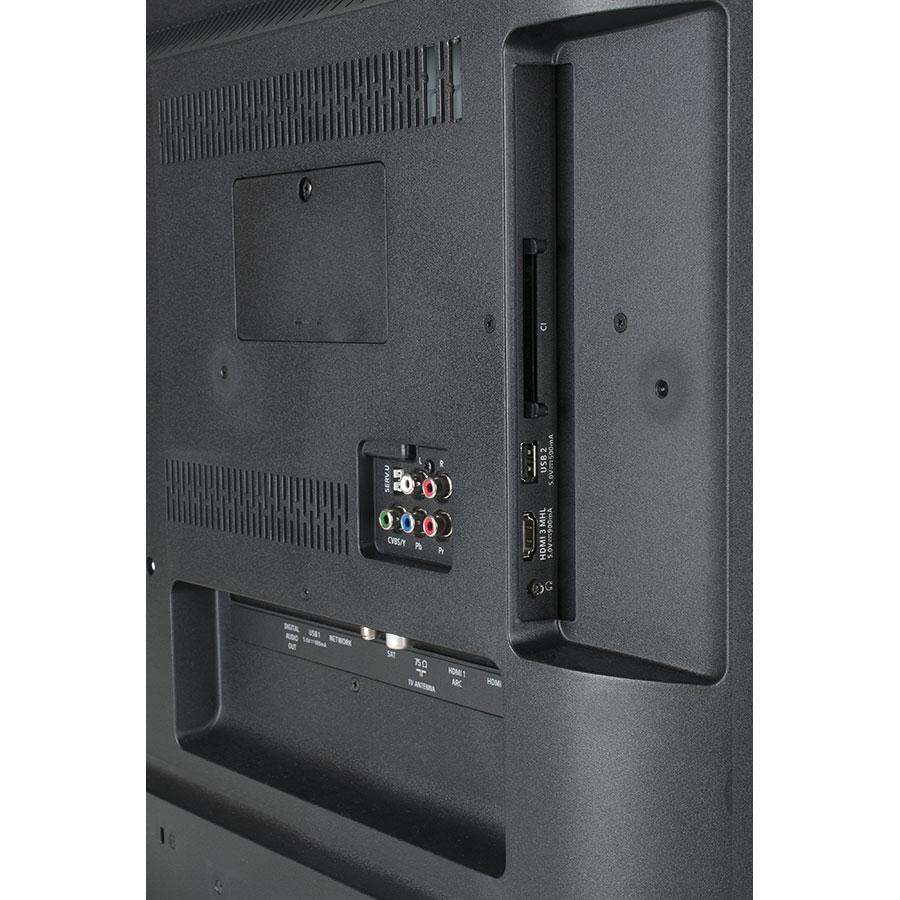 Philips 43PUS6162/12 - Connectique