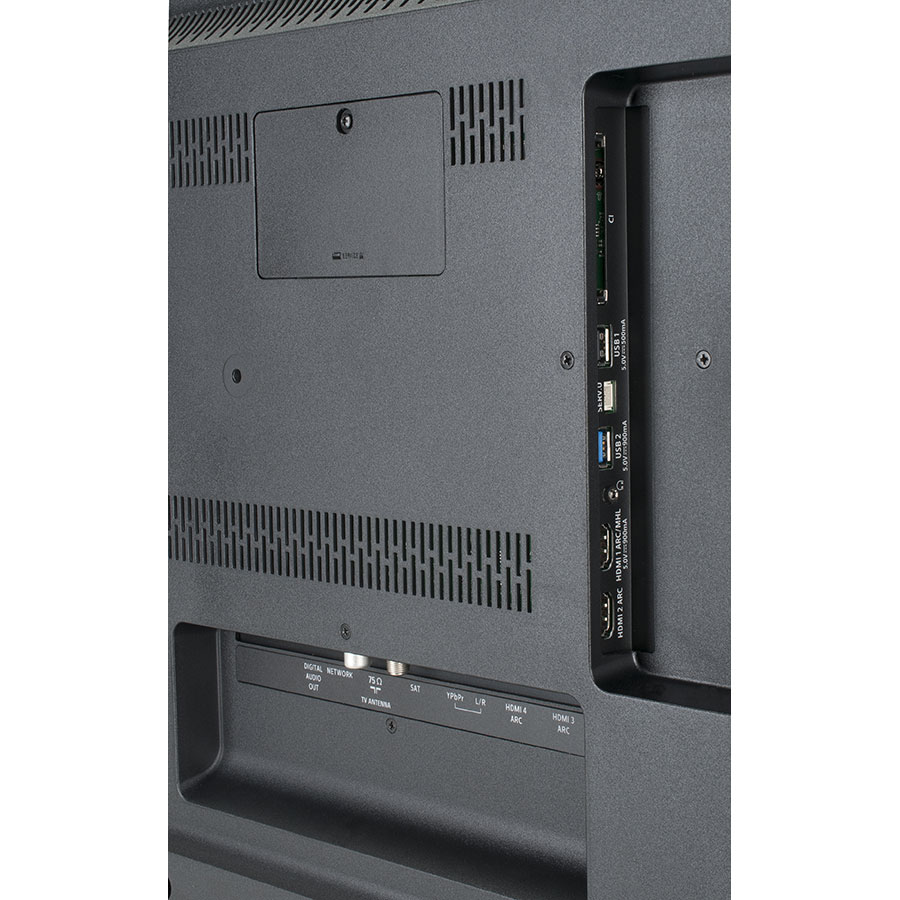 Philips 55PUS6412/12 - Connectique