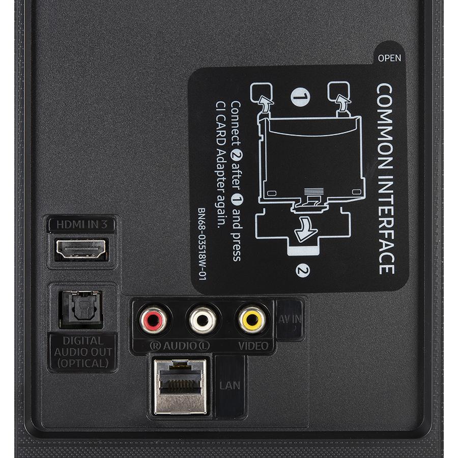 Samsung GU43TU8079 - Connectique