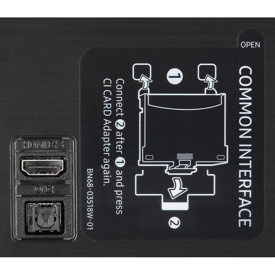 Samsung QE55Q60A - Connectique