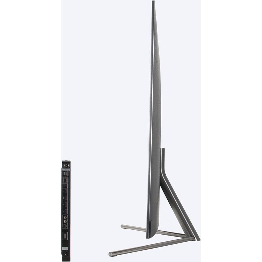 Samsung QE65Q7F  - Vue de côté