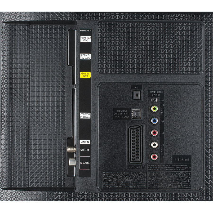 Samsung UE40J5100 - Connectique