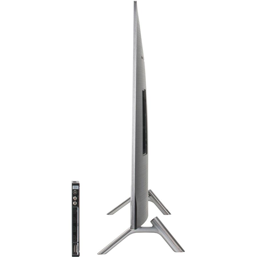 Samsung UE49MU7005 - Vue de côté