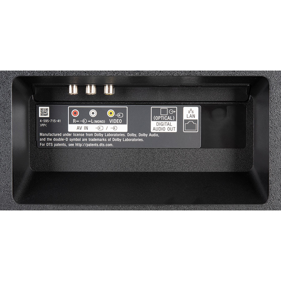Sony KD-43X7056 - Connectique