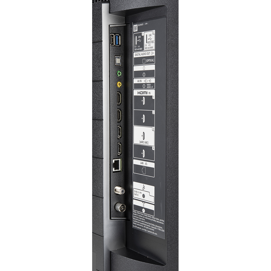 Sony KD-43X80J - Connectique