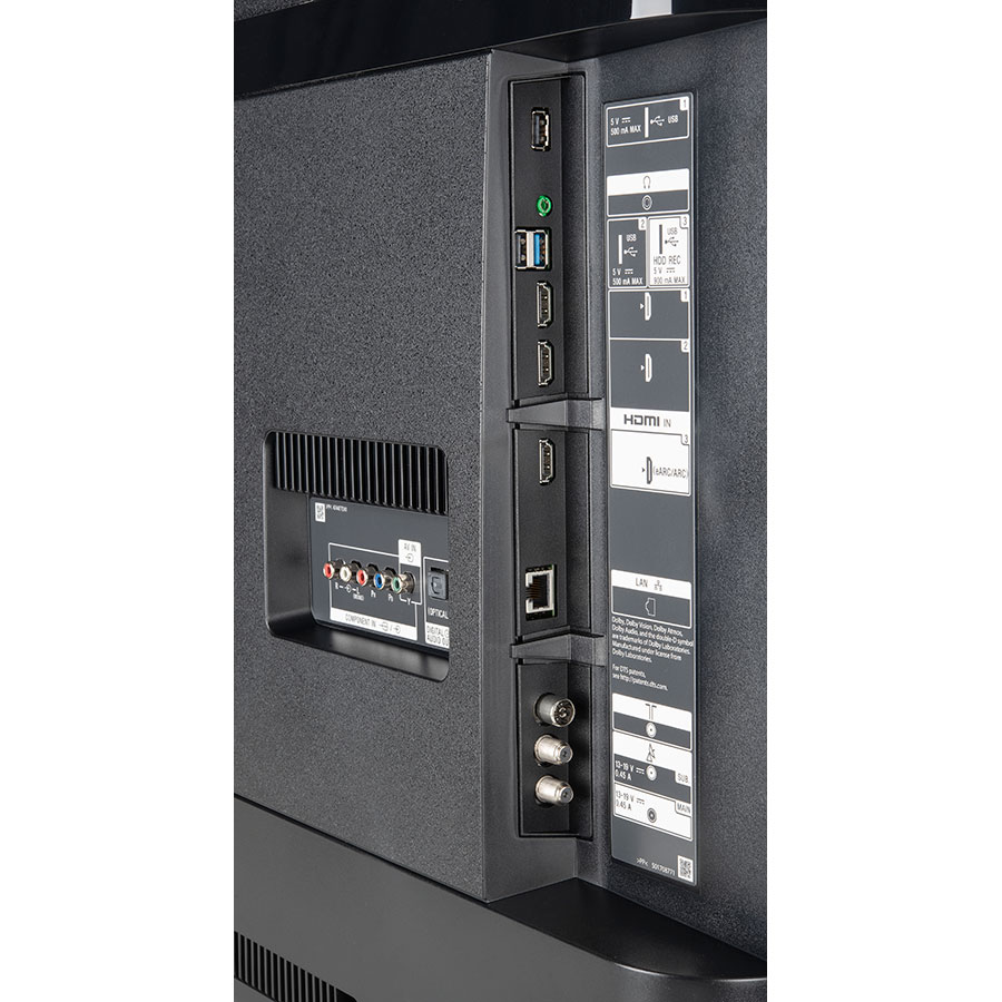 Sony KD-43XH8505 - Connectique