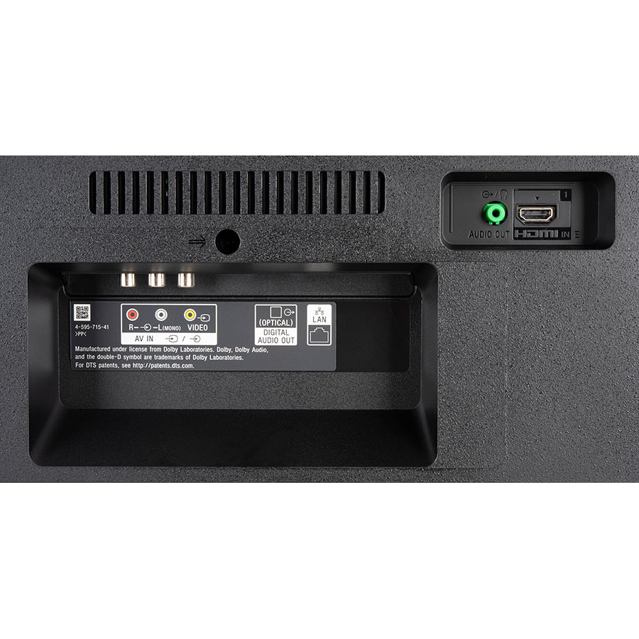 Sony KD-49X7056 - Connectique