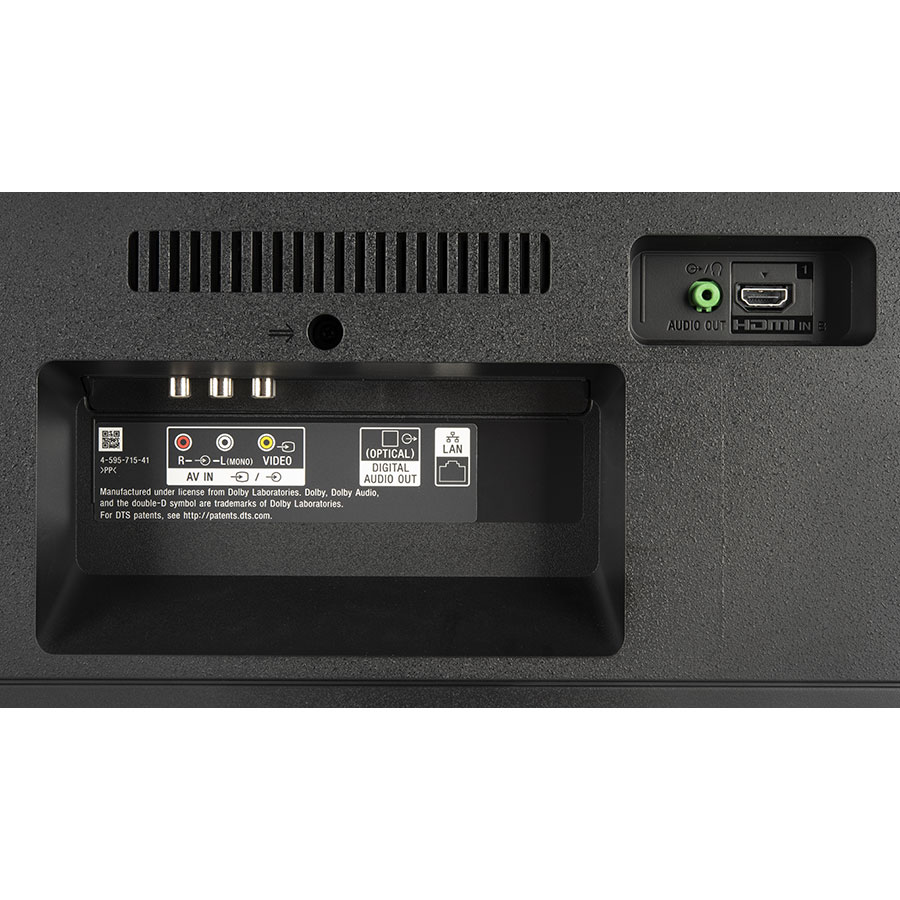 Sony KD-49XF7005BAEP - Connectique