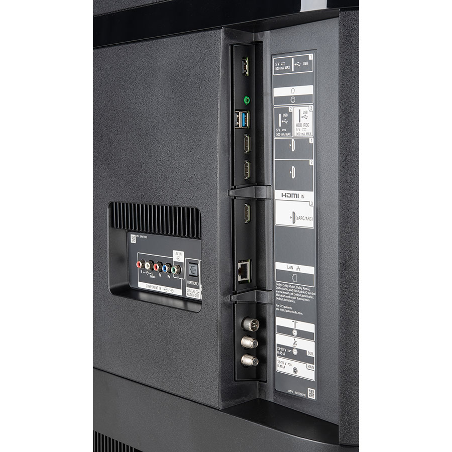 Sony KD-49XH8505 - Connectique