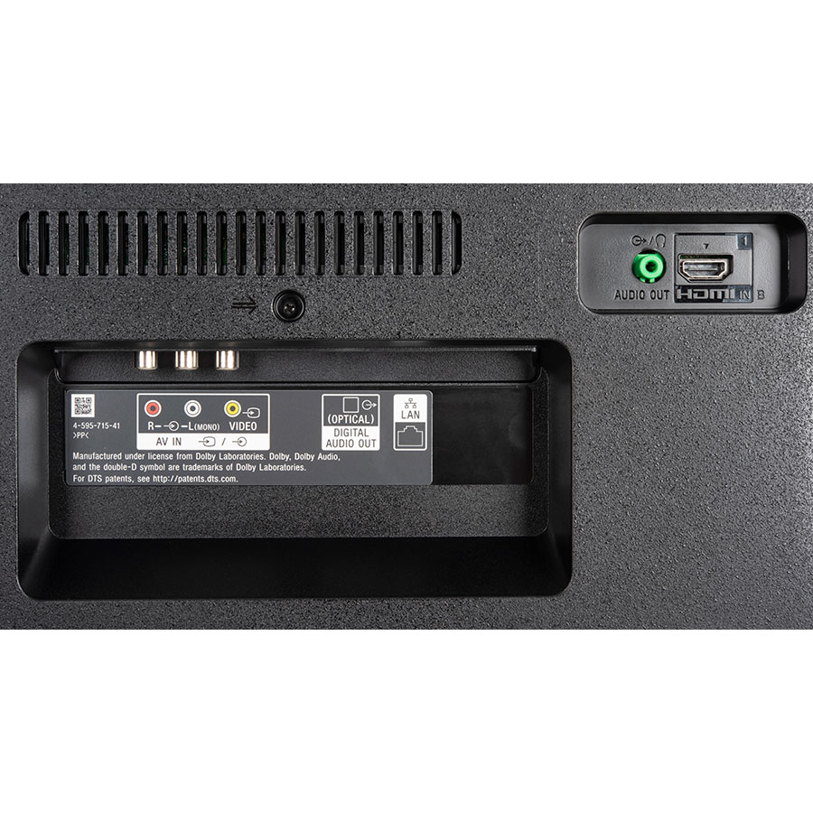 Sony KD-55X7055 - Connectique