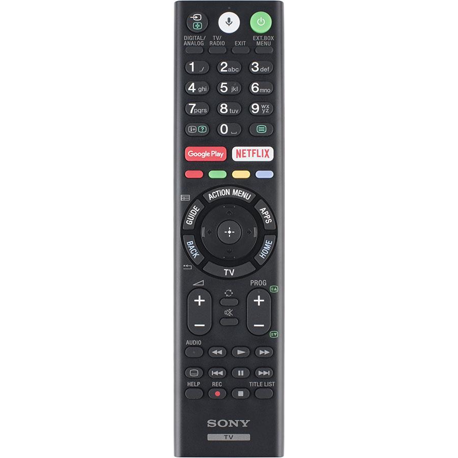 Sony KD-55XF8505 - Télécommande