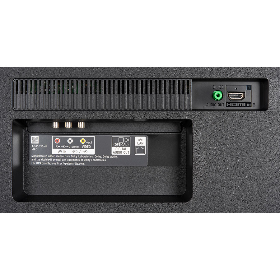 Sony KD-65X7055 - Connectique