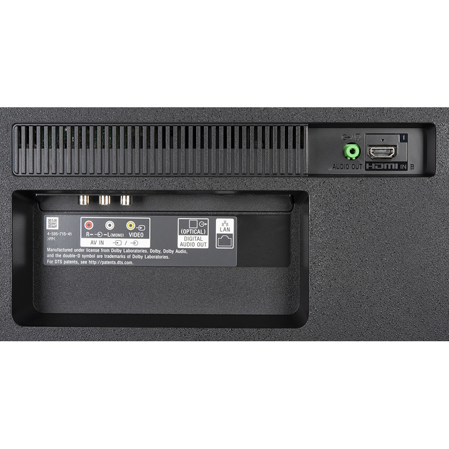 Sony KD-65XG7096 - Connectique
