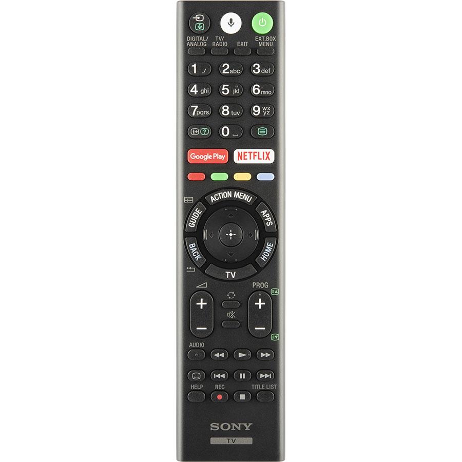 Sony KD-65XG8096 - Télécommande